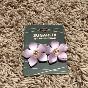 NWT flower earring from Sugarfix by BaubleBar